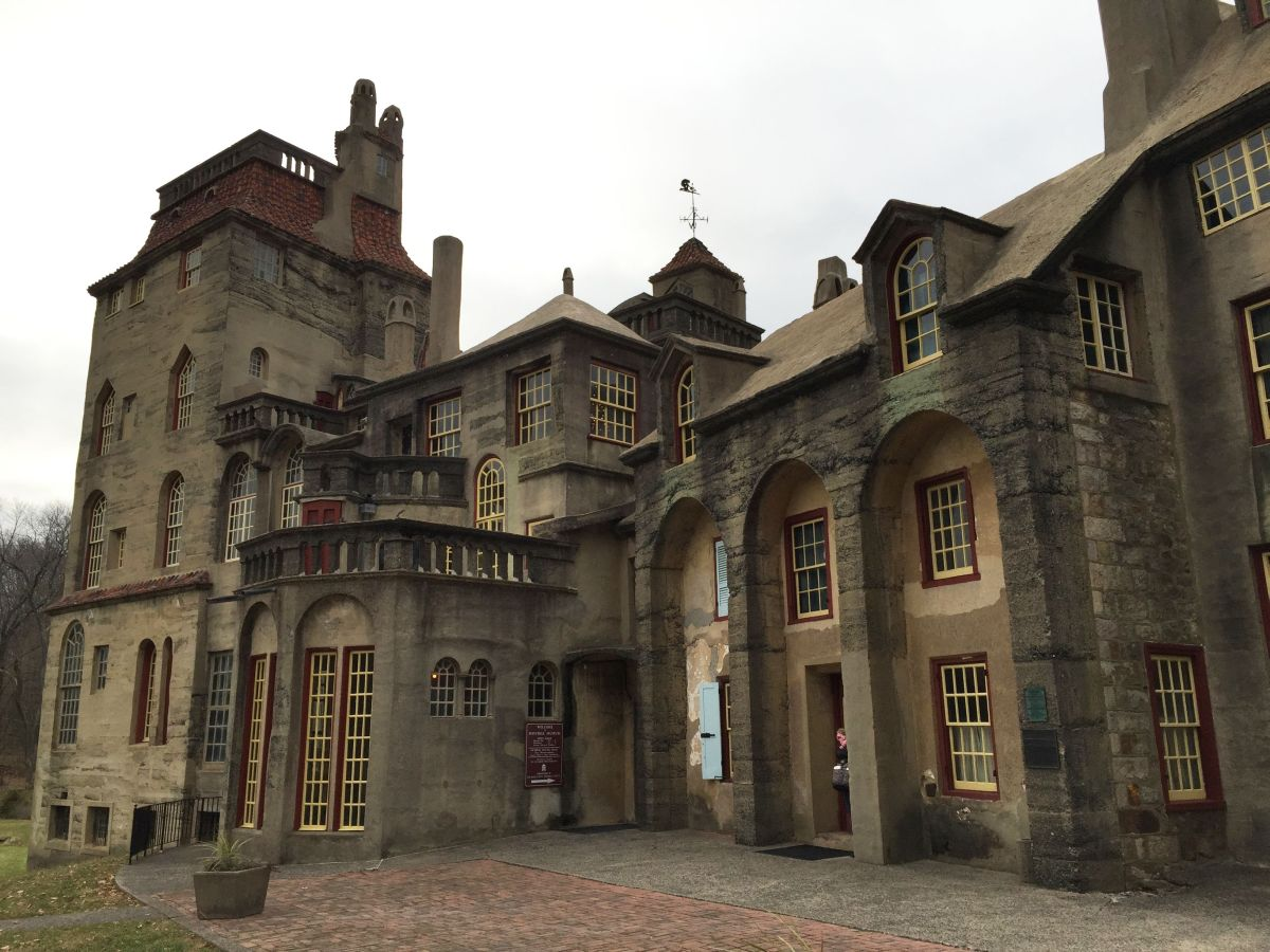 The home they said could not be built. Fonthill Castle in Doylestown, PA. © Fred Marion, 2014